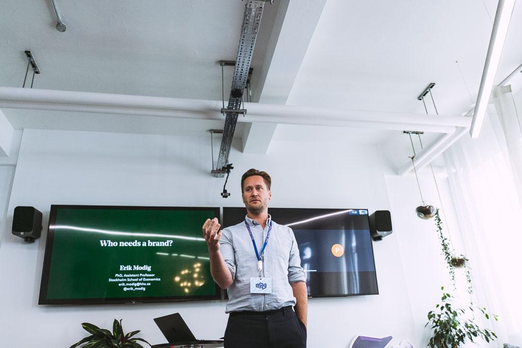 Erik Modig föreläsare om marknadsföring som gör skillnad